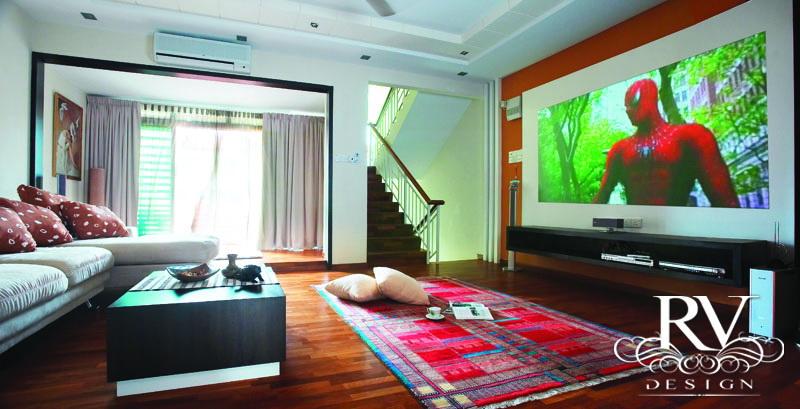 Sg Krian Family Hall Rv Design Penang